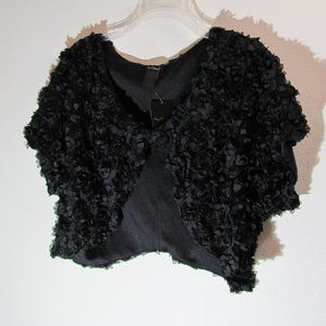 Nue Options Black Dress Topper